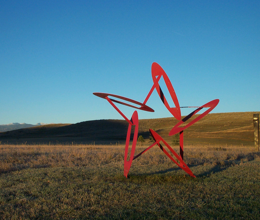 Sculpture by Richard Swanson: Papillon