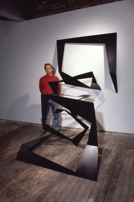 Sculpture by Richard Swanson: Expanded Rectangle
