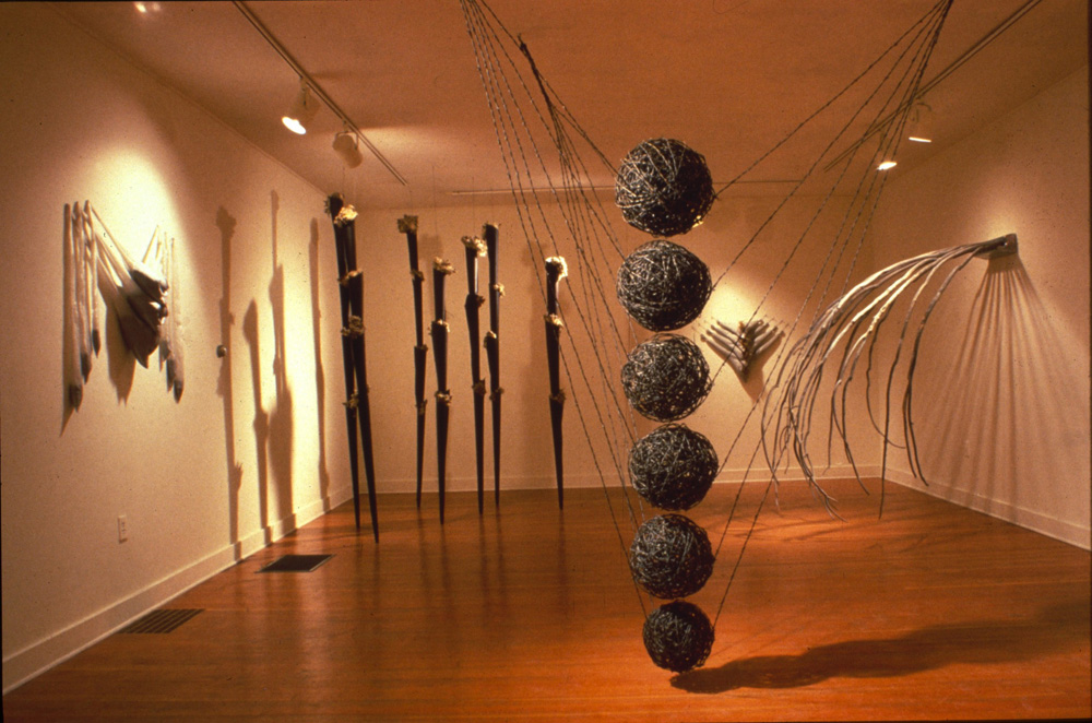 Sculpture by Richard Swanson: Staying Balanced